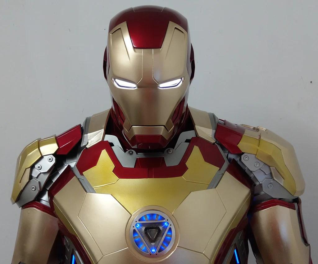 Iron Man Red White Blue