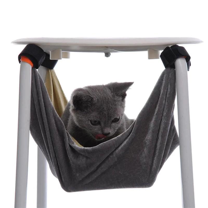 cat hammock under chair antique bentwood high dashlux