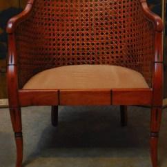 Mid Century Modern Cane Barrel Chairs Delta Avery Nursery Glider Chair Grey Bamboo Erin Lane Estate