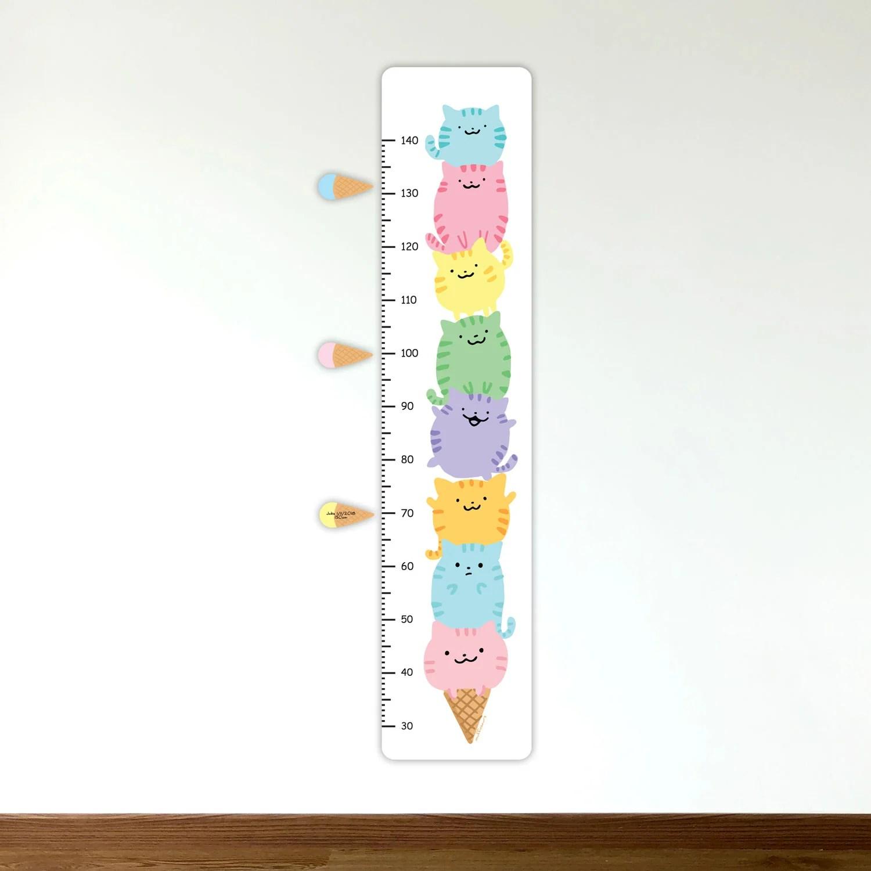 also ice cream cats growth chart  muffinsaurs shop rh