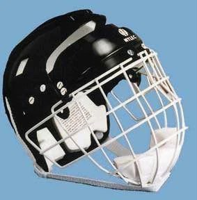 floor hockey helmet wire