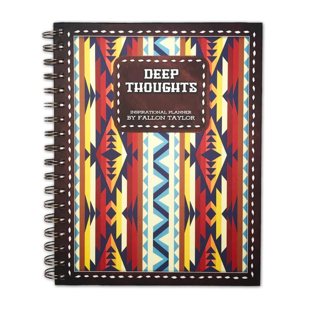 deep thoughts inspirational planner