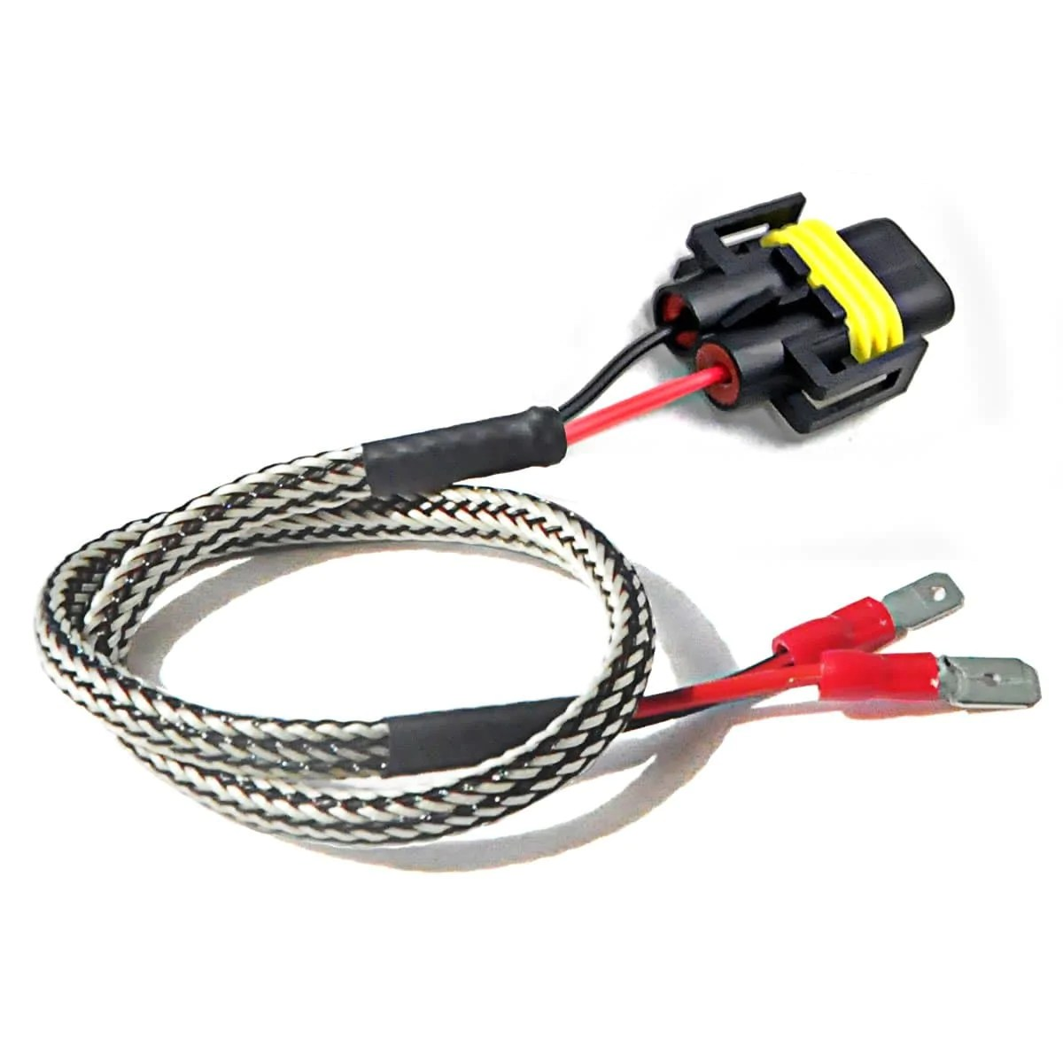 hight resolution of h11b h11 led headlight plug extension cable wiring harness