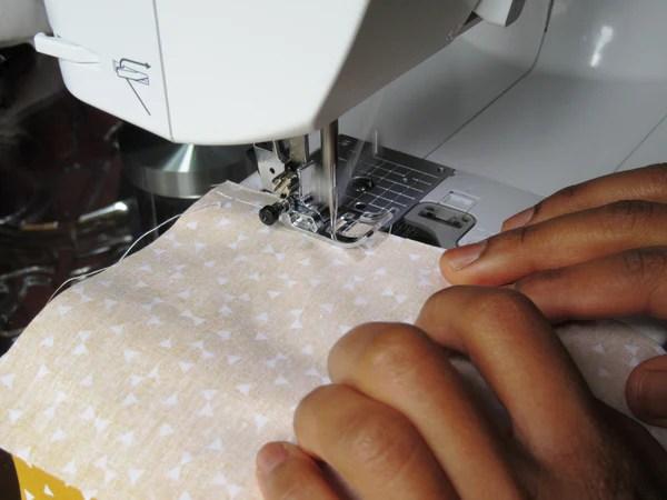 Couture des tissus