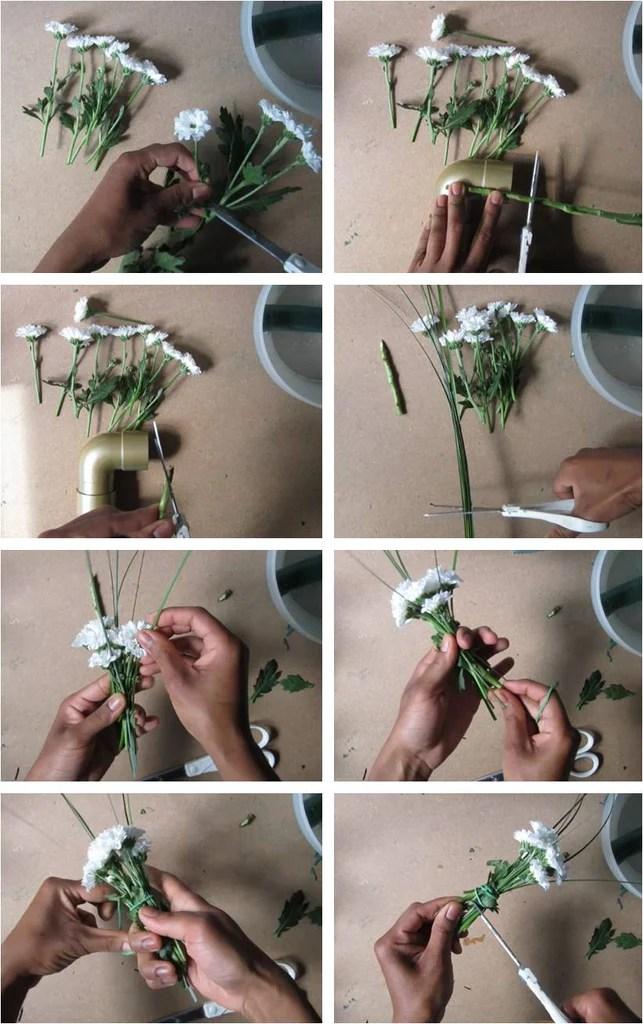 DIY Fleurs - Composition florale