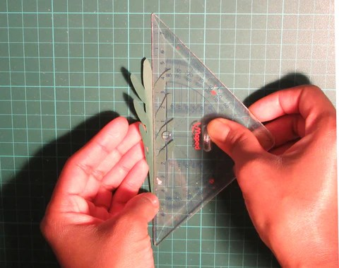 DIY Pliage d'une feuille en papier