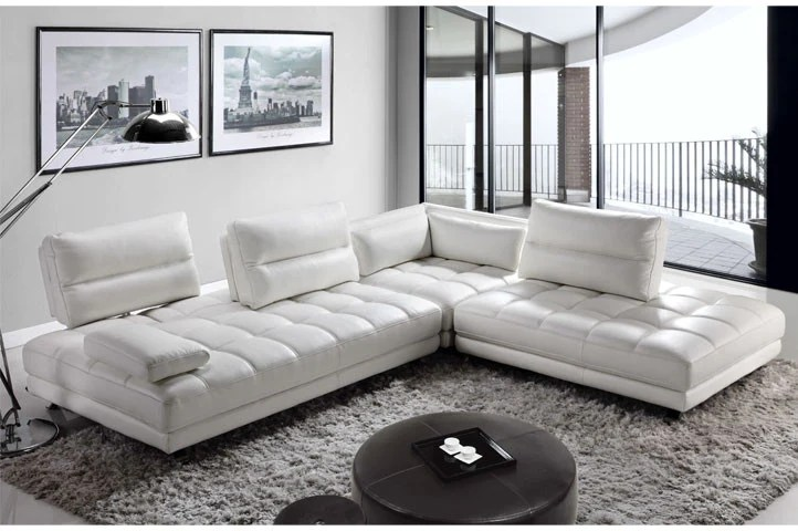 leather sectional sofas minnie mouse flip out sofa big w teva by moroni at trade source furniture white