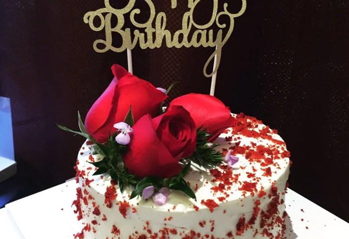 Glitter Happy Birthday Cake Topper Party Box Printables