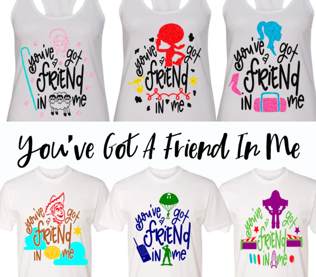 Jessie You Ve Got A Friend In Me Toy Story Shirts You Ve