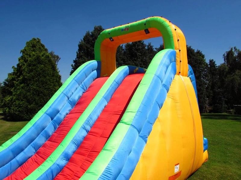 BeBop Splash Mountain Giant Inflatable Garden Water Slide