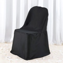 Cheap Rental Chair Covers High Back Designer Chairs Premium Folding Cover Black Tablecloths Factory