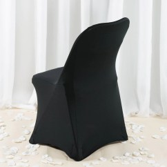 Cheap Black Chair Covers For Sale Tan Leather Dining Room Chairs Premium Spandex Folding Cover Tablecloths