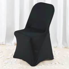 Dark Red Chair Sashes Steel Casters Premium Spandex Folding Cover Black Tablecloths