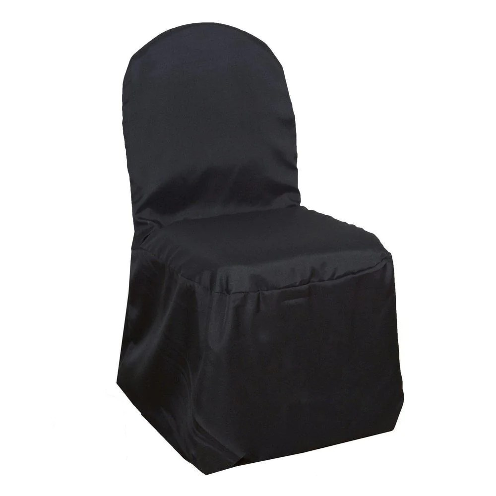 cheap black chair covers for sale folding sling chairs polyester banquet tablecloths factory