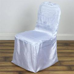 Sequin Chair Covers Uk Wooden Table And Chairs For 18 Inch Dolls Big Clearance Sale 2019 Tabelclothsfactory Tableclothsfactory Com White Mademoiselle Style Crinkle Banquet Cover