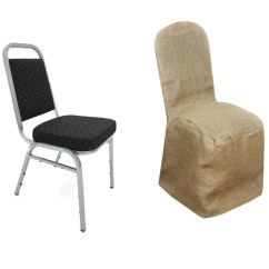 Burlap Chair Covers For Folding Chairs Alliance Party Natural Jute Banquet Cover Tablecloths Factory Fits Over Style