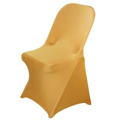 Gold Universal Chair Covers Cover Hire South Wales For Folding Spandex