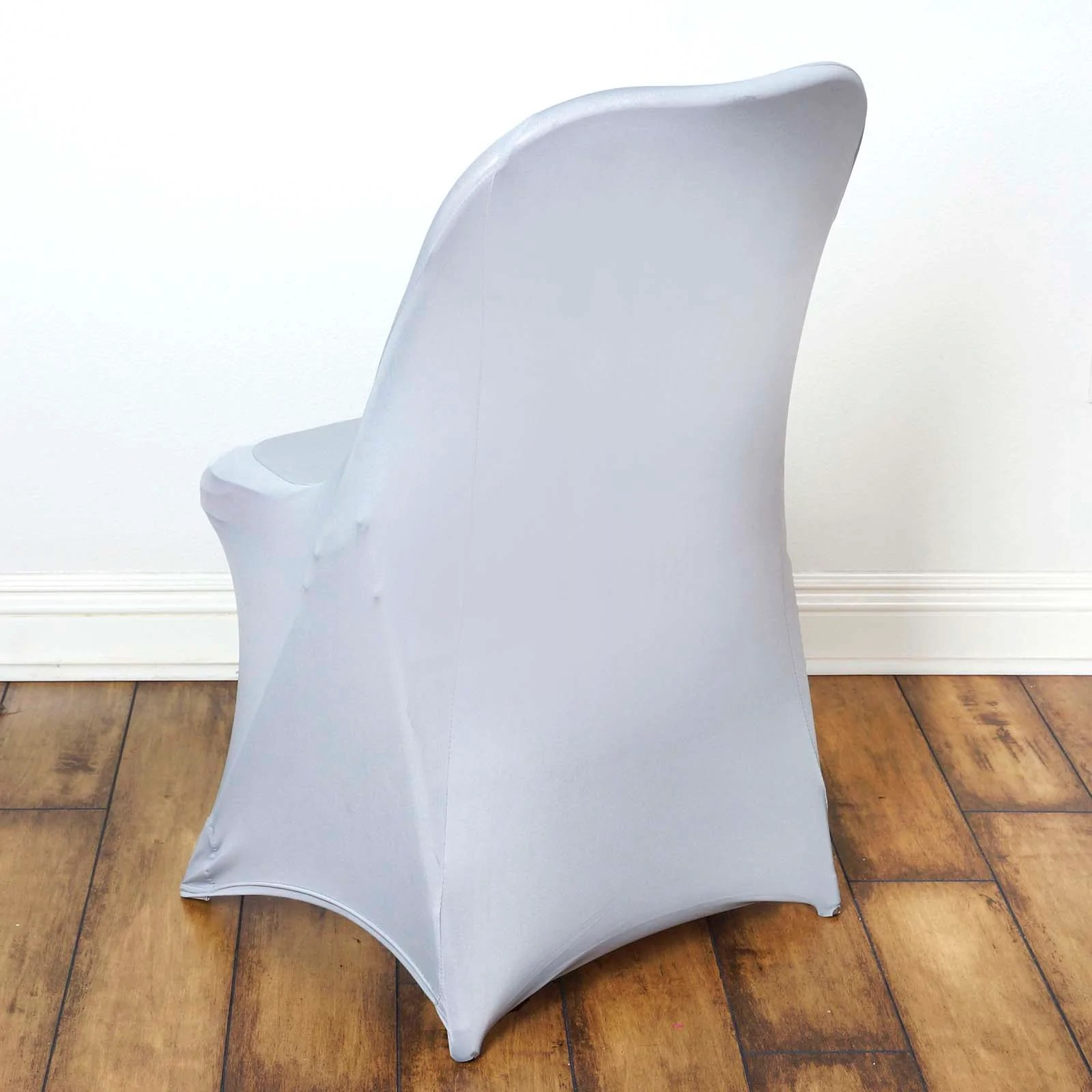 will folding chair covers fit banquet chairs cohesion xp 2 1 gaming silver spandex stretch cover tablecloths factory for