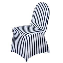 Cheap Black Chair Covers For Sale Plastic Tables And Chairs White Striped Spandex Stretch Banquet Cover