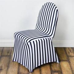 Black Spandex Chair Covers For Sale Modern Side White Striped Stretch Banquet Cover