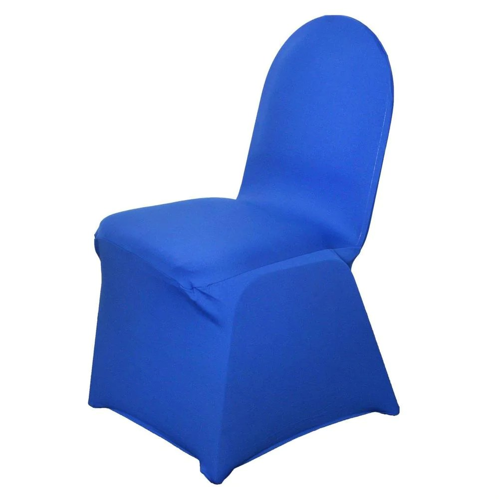 royal blue chair covers black spandex folding premium banquet stretch cover tablecloths
