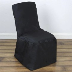 Black Chair Covers Party City Linen Tufted Kirklands Tableclothsfactory Com Polyester Square Top Banquet