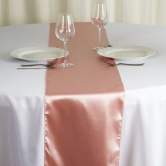 Rose Gold Satin Chair Sashes Knoll Conference Room Chairs Table Runner Mauve Tablecloths Factory