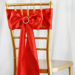 Where To Buy Chair Sashes Cover Rentals Baton Rouge Satin Tableclothsfactory Com 5 Pack 6 X106 Red