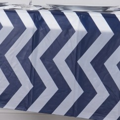 Disposable Plastic Chair Covers For Parties Wing Clearance 54 Quotx108 Quot Navy Blue Wholesale Waterproof Chevron