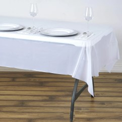 Disposable Plastic Chair Covers For Parties Radford Accent Tub 10mil Thick Vinyl Picnic Banquet