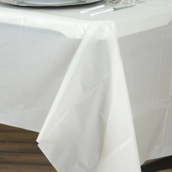 Disposable Plastic Chair Covers For Parties One Design 10mil Thick Vinyl Picnic Banquet