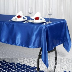 Chair Covers And Table Linens Wholesale Armless Dining Chairs 60x102 Quot Royal Blue Satin Banquet Linen Wedding