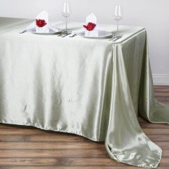 Chair Covers And Table Linens Wholesale Desk Is Too Low 90x132 Quot Reseda Satin Rectangular Tablecloth Tablecloths