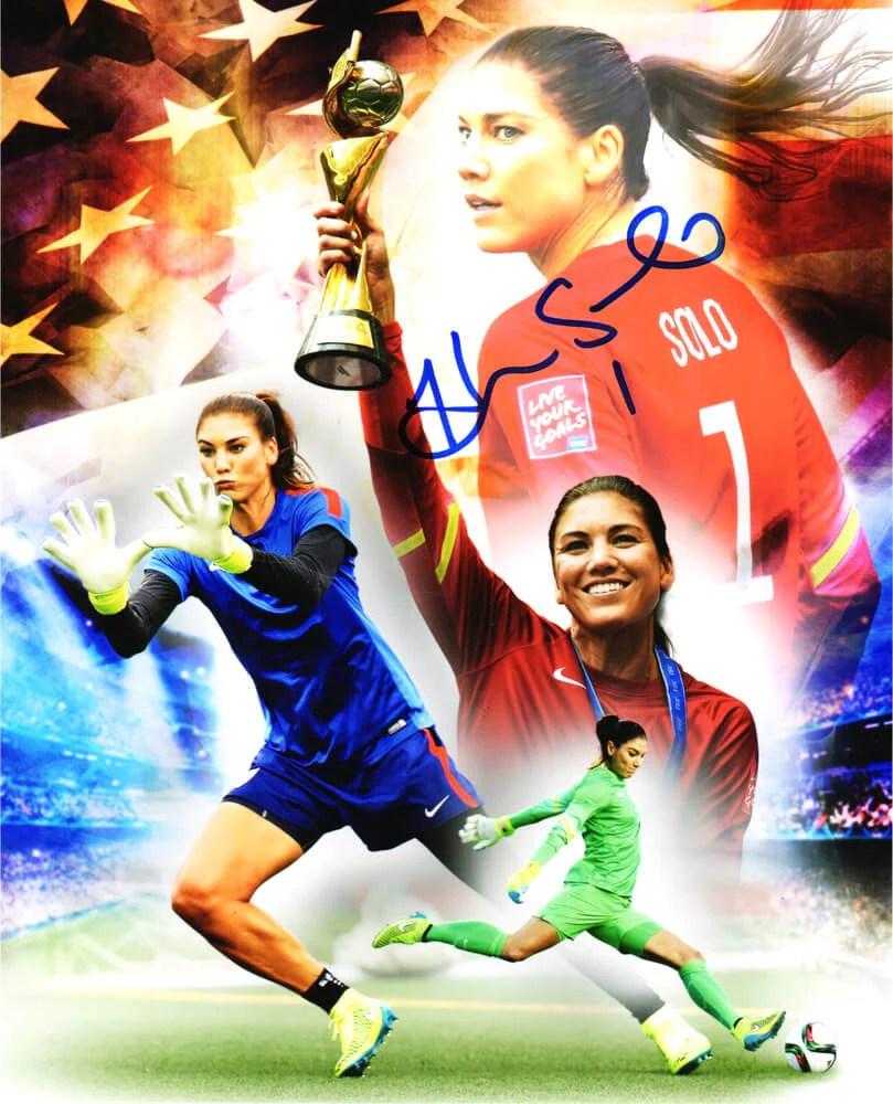 Soccer Collage : soccer, collage, Signed, Soccer, Collage, Photo