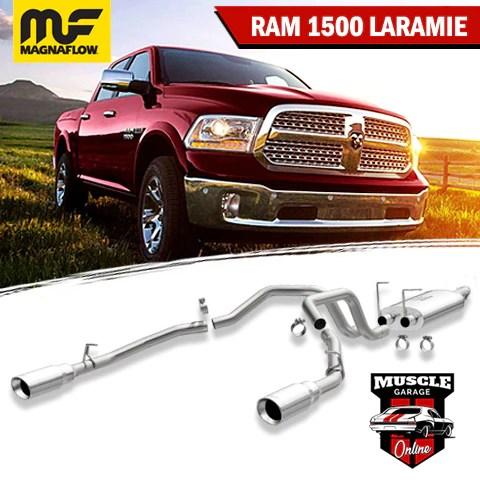 16869 2015 2019 4th gen dodge ram 1500 5 7l laramie magnaflow cat back exhaust system