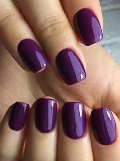 Purple Gel Nails Designs : purple, nails, designs, Gorgeous, Purple, Designs, Focus, BeautyBigBang