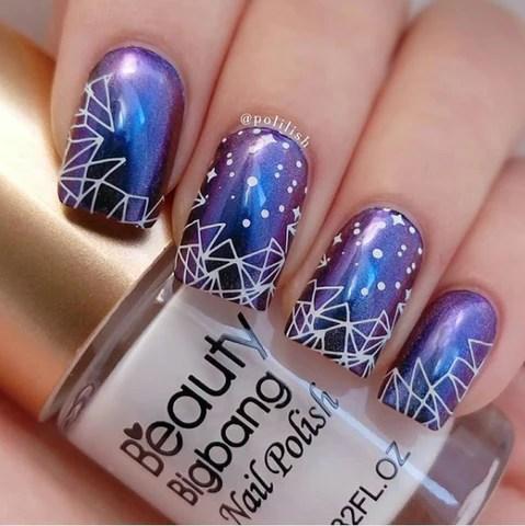 lively 90 summer nail design