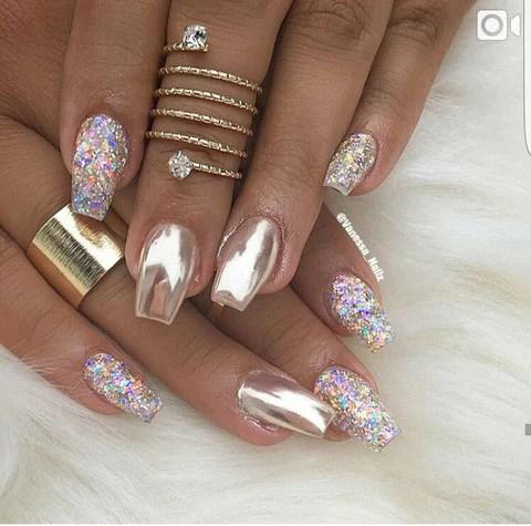 mirror nail design 2018