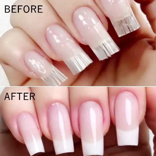 10pcs fiberglass nail extension