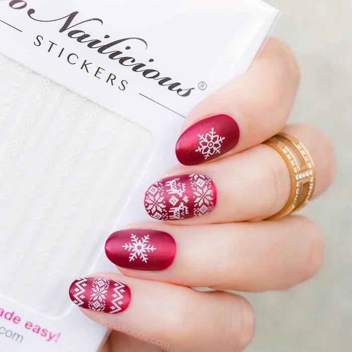 in- pro nail sticker set