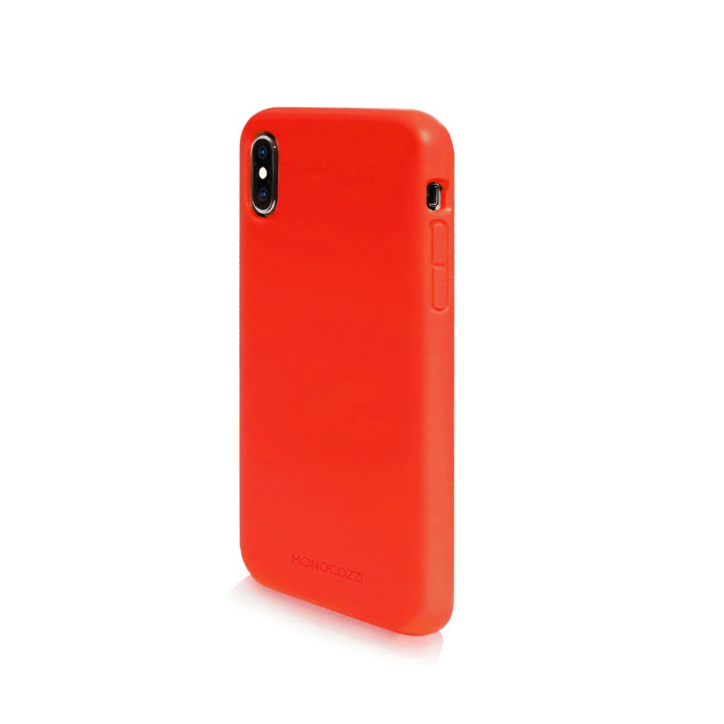 Lucid Plus | iPhone XS | 特強防撞手機保護殼 | 紅色 | Monocozzi – Apple 手機配件 | iPhone iPad Macbook 保護殼 | Monocozzi