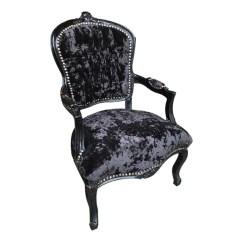 Black Velvet Chair Valkönen Hanging Crushed With Frame Decorexi