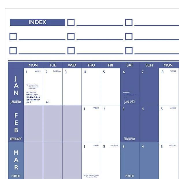 Planners large year wall chart  holiday planner also and rh mapmarketing