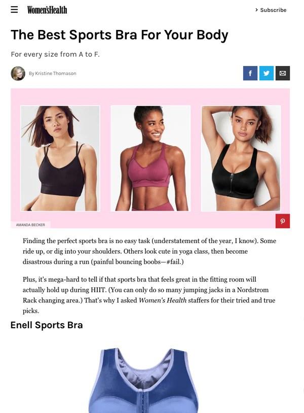 women s health august