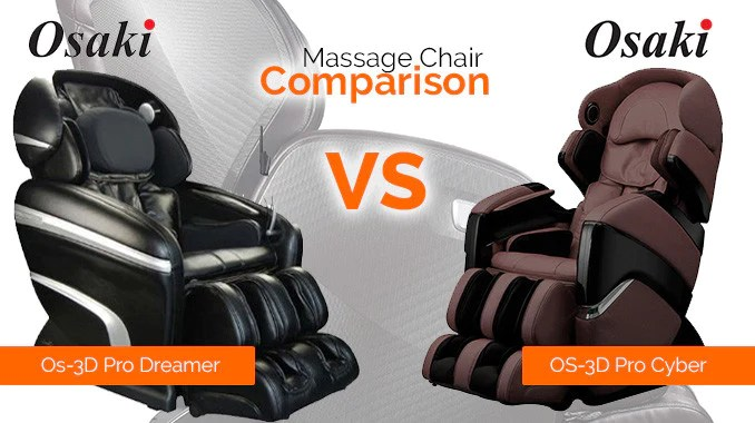 osaki os 3d pro cyber massage chair plastic tri fold beach lounge vs dreamer expert comparison our main goal with this is to educate the consumer and present pros cons of each allow them make best purchase
