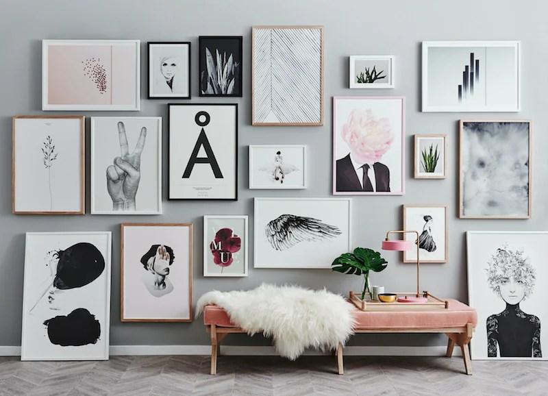 Creating The Perfect Gallery Wall Norsu Interiors