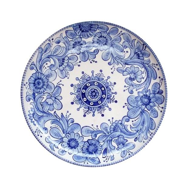 blu bianca plate