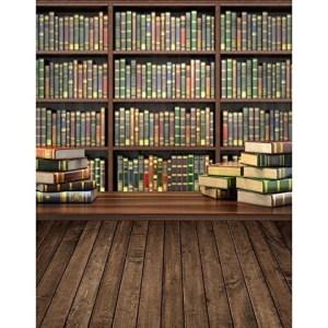 study bookshelf studio background backgrounds library backdrop portrait backdrops books student vinyl zoom cloth custom wooden refer following seamless