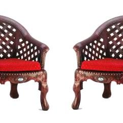 Cushion Sofa Set Farnichar Nilkamal Luxura 2 1 With Cushions In Rose Wood Color