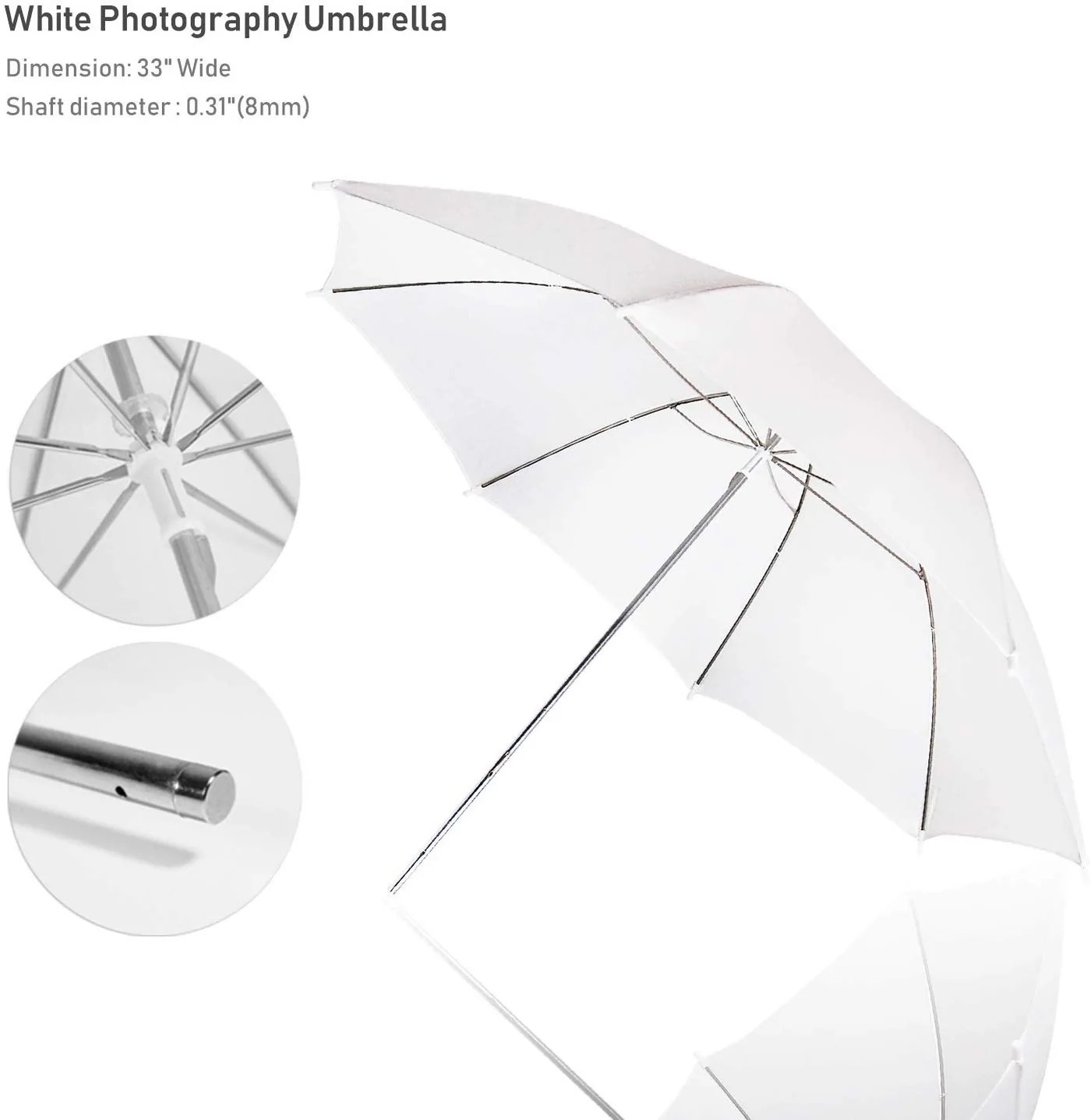 limostudio photography photo portrait studio day light 33 translucent natural lighting white umbrella continuous lighting kit sre1273